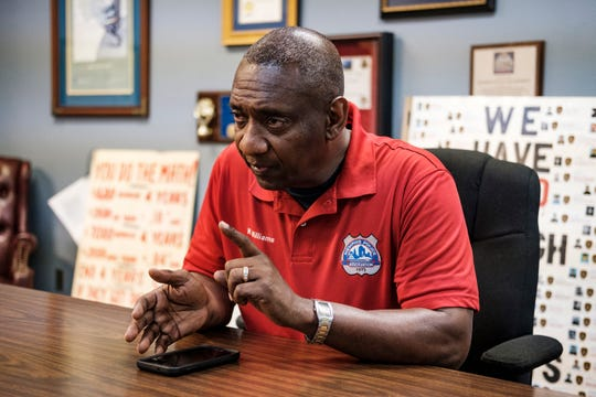 Mike Williams, president of the Memphis Police Association.