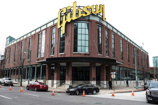 FedEx Logistics is relocating to the Gibson Guitar Building, Gov. Bill Lee and local officials announced Tuesday at the former guitar factory off Beale Street.