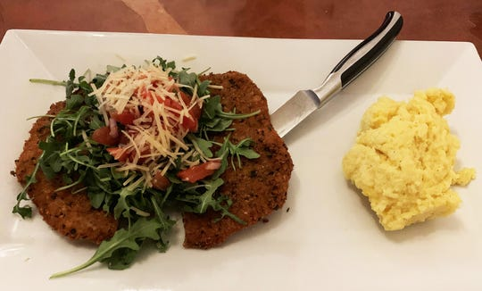 The pork Milanese from La Tavola, Marco Island.