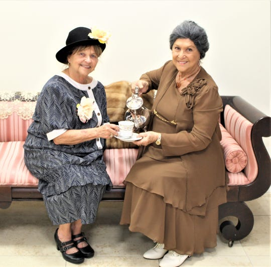 The seventh annual President's Day program for 2019 features two Marco Island actresses, Bonnie Bozzo and Judy Daye portraying Edith and Eleanor Roosevelt.