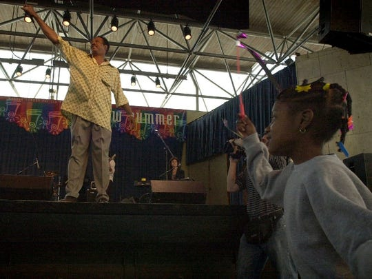 Harvey Scales' music was covered by the J. Geils Band and sampled by the Beastie Boys. Pictured here at a Marcus Center show in 2000, he performed well into his seventies, including at Summerfest in 2017.
