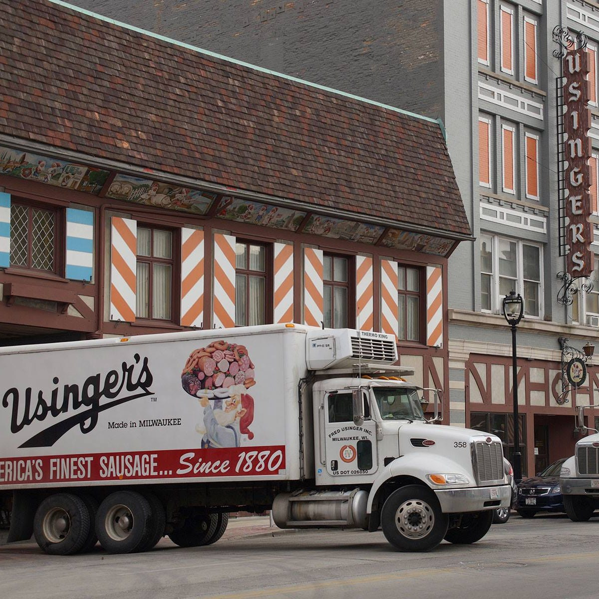 Old German Beer Hall is giving patrons free Usinger sausage to celebrate Fred Usinger Day.