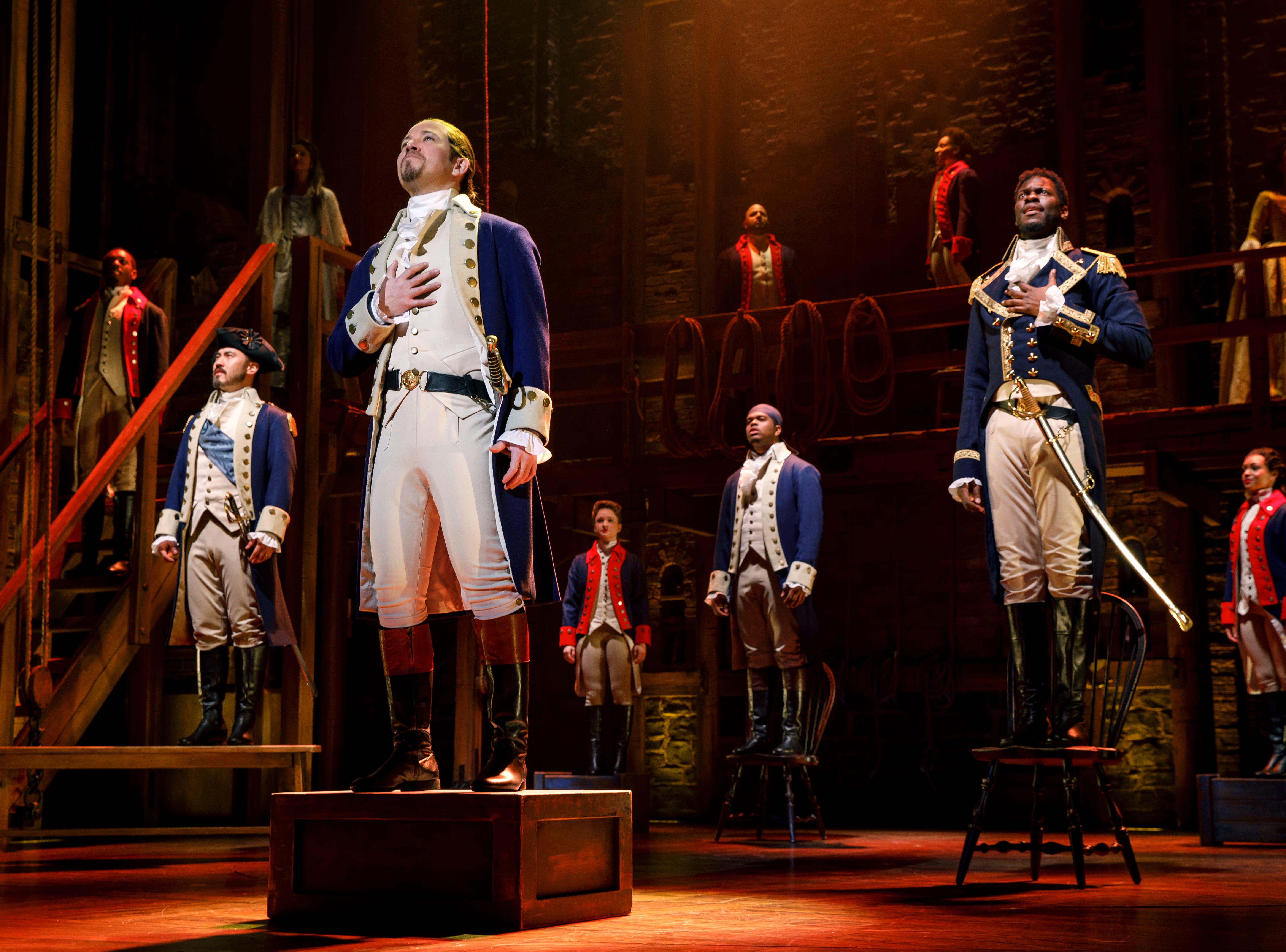 """Joseph Morales and Nik Walker will lead the second national tour of """"Hamilton"""" as Alexander Hamilton and Aaron Burr, respectively."""