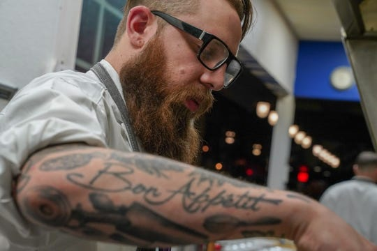 Chef Adam Pawlak is opening his first restaurant, Egg & Flour Pasta Bar. He previously was the chef at Black Sheep in Walker's Point.