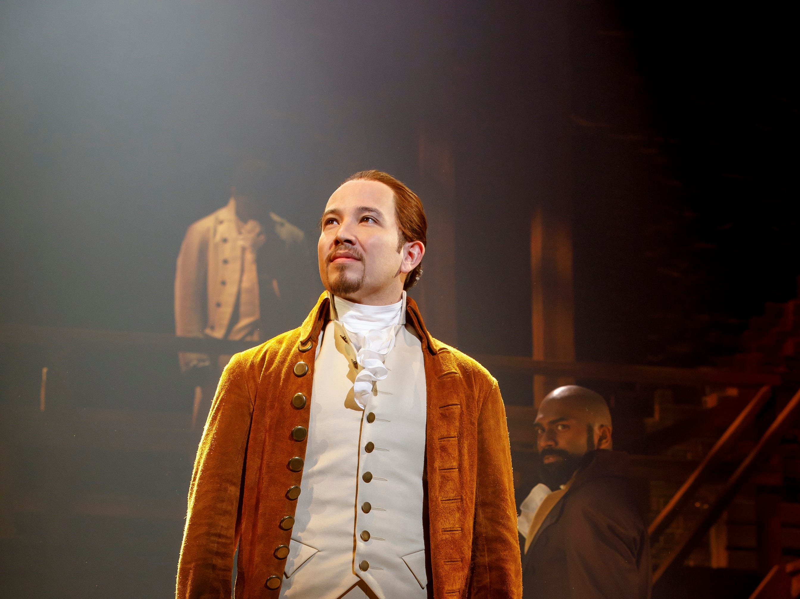 """Joseph Morales plays the title role in the second national tour of """"Hamilton."""""""
