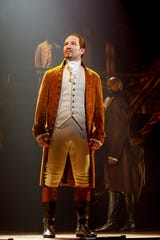"Joseph Morales plays the title role in the second national tour of ""Hamilton."""