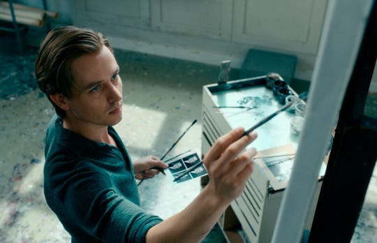 "Tom Schilling plays a painter navigating his life and art through postwar Germany in ""Never Look Away."""