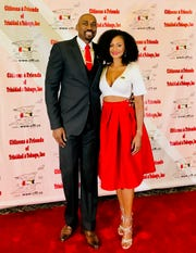 "Joslyn Pennywell and Kibwe Trim will tie the knot on live TV. The couple were chosen for Lifetime network's ""My Great Big Live Wedding."""