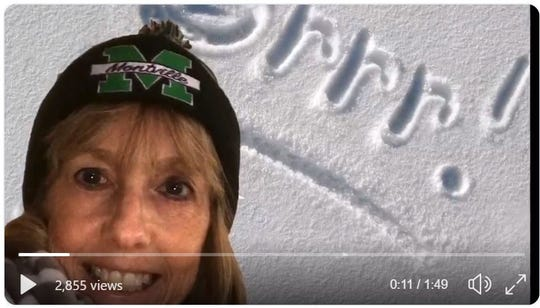 Montville Schools Superintendent Dr. Renee Rovtar  declared a snow day Tuesday by posting a rap video on Twitter.