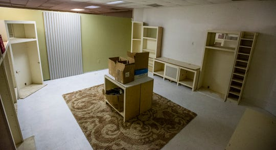 The Salvation Army in Montgomery, Ala., is making this room, shown on Tuesday February 12, 2019, into a wellness center.
