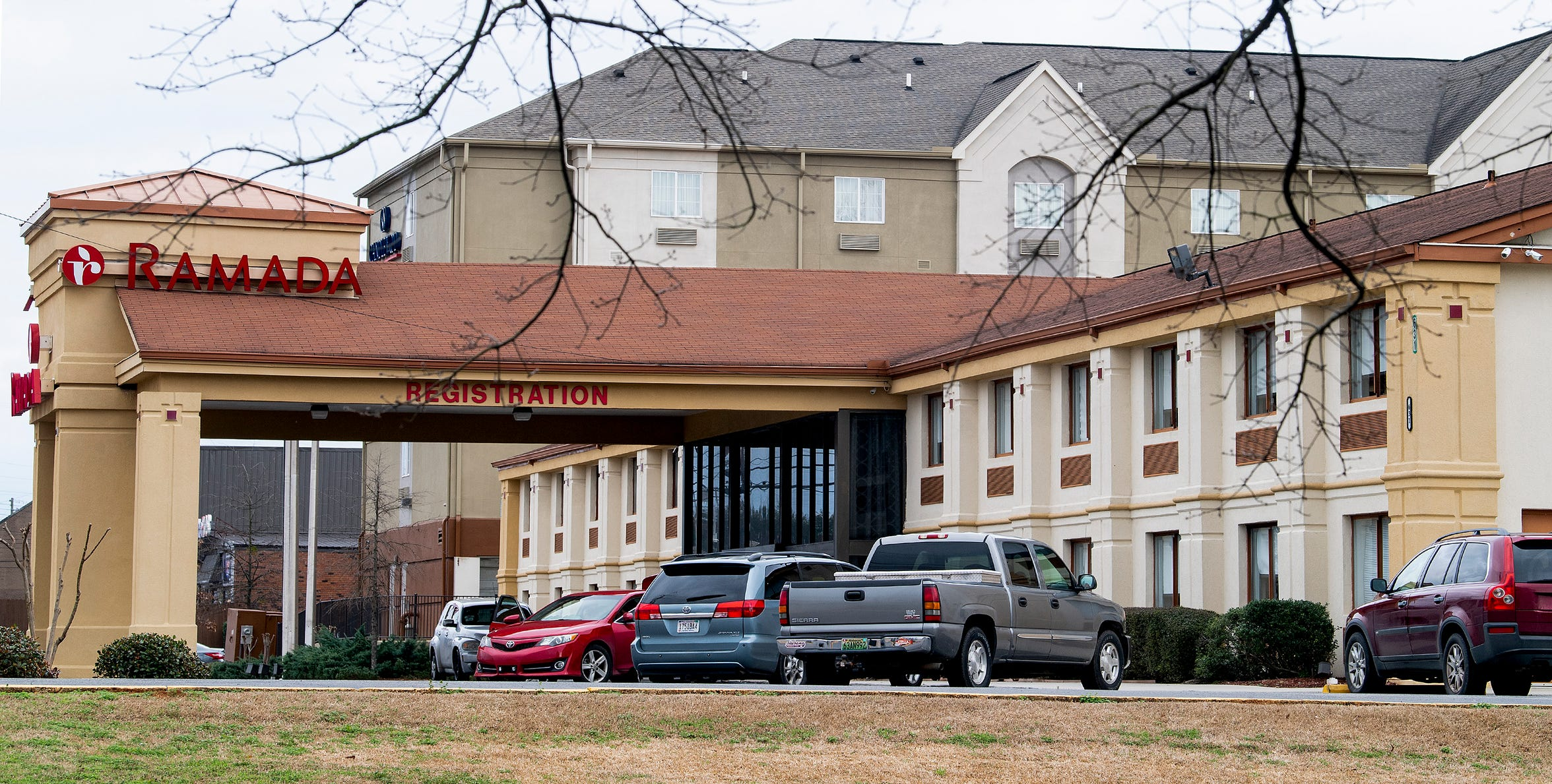 The Ramada Inn on Skyland Blvd. in Tuscaloosa, Ala., on Wednesday February 6, 2019.