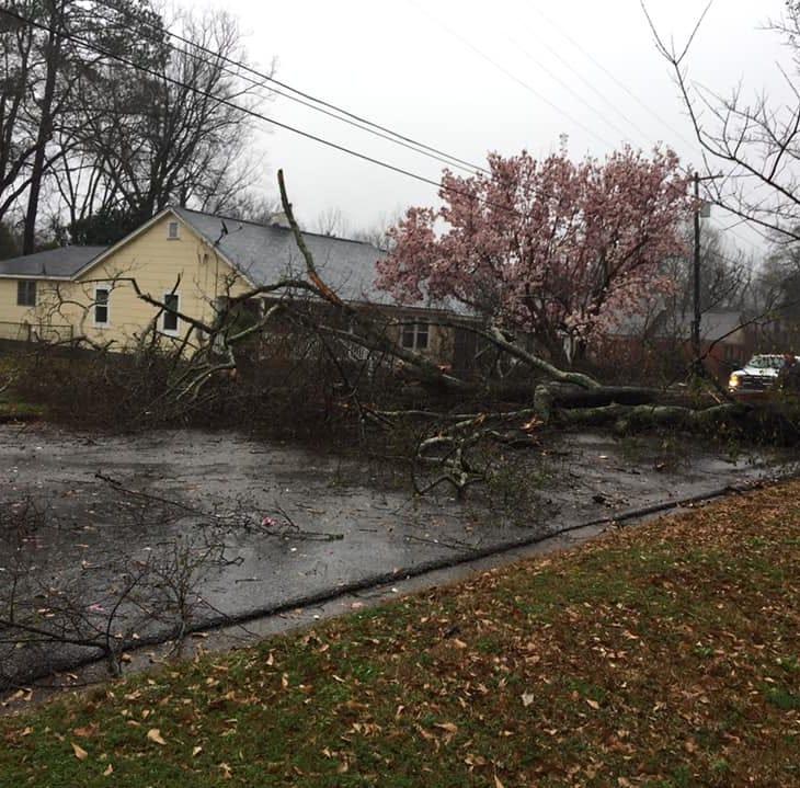 Heavy rains cause damage in Wetumpka, Prattville