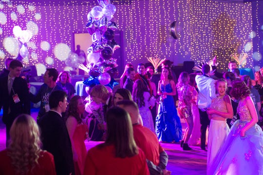 Attendees of the Night to Shine event dance the evening away at NorthField Church in Gallatin on this file photo. The Night to Shine is a prom night experience presented by Tim Tebow Foundation to celebrate God's love for people with special needs.