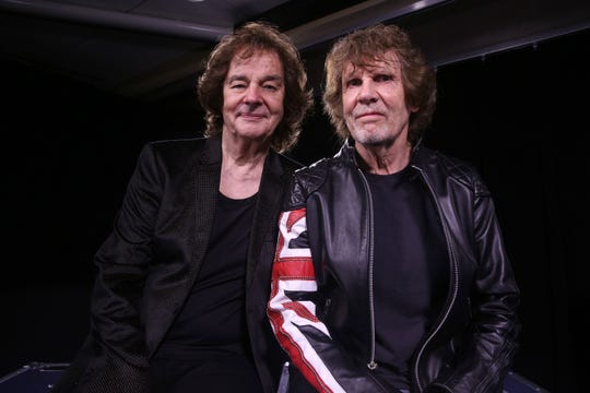 Colin Blunstone, left, and Rod Argent of The Zombies at South By Southwest in Austin, Texas, on March 21, 2015.
