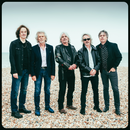 The Zombies perform Saturday, Feb. 16, 2019, in Bonita Springs. Colin Blunstone, far left, and Rod Argent, second from left, are original members.