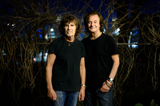 Rod Argent, left, and Colin Blunstone of the Zombies.