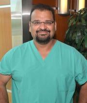 Dr. Nasser Razack, neurointerventional radiologist.