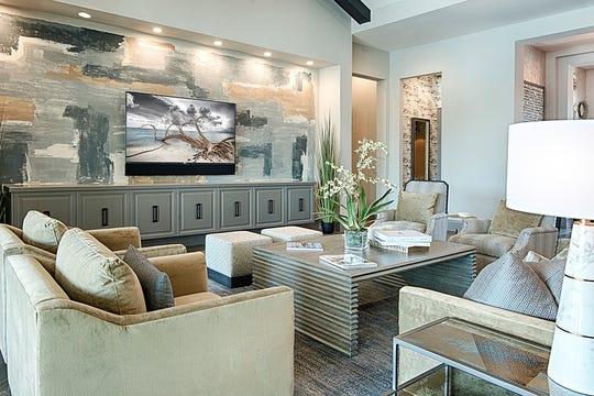 Divco living room Baywood model located in Pine Ridge Estates.