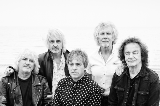 The Zombies perform in Bonita Springs on Saturday, Feb. 16, 2019. Colin Blunstone, at far right, and Rod Argent, second from right.