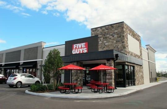 Five Guys Burgers and Fries opened Feb. 7, 2019, on Bonita Beach Road in the newly built Bonita Exchange retail strip west of Interstate 75 in Bonita Springs.