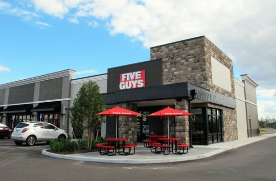 Five Guys Burgers and Fries opened Feb. 7, 2019, on Bonita Beach Road in the newly built Bonita Exchange retail strip west of Interstate 75 in Bonita Springs.