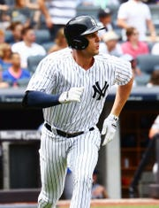 Yankees first baseman Greg Bird is healthy and confident, saying he's up for the challenge to win back his first-base job.