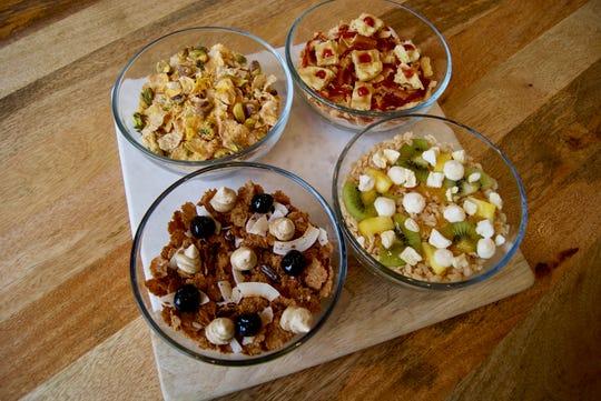 Cereal bowls at Kelloggs NYC