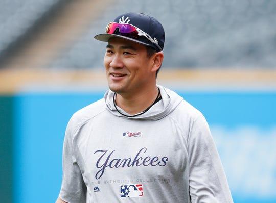 New York Yankees' Masahiro Tanaka last July.