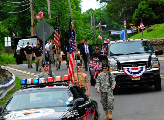 Wanaque's Memorial Day Parade only closed one lane of Ringwood Avenue in 2011. Local officials say that route was too dangerous.