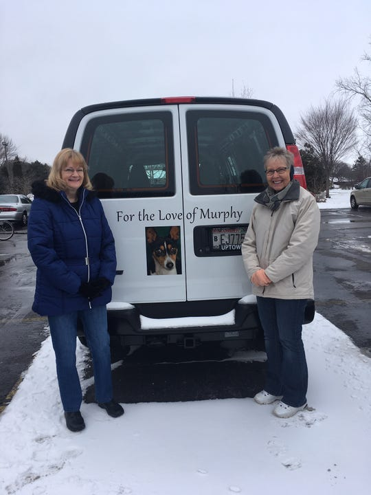 """The Oshkosh Area Humane Society was recently able to purchase a new animal transport vehicle with funds raised by the """"For Love of Murphy"""" campaign which matched dollar-for-dollar up to $10,000."""