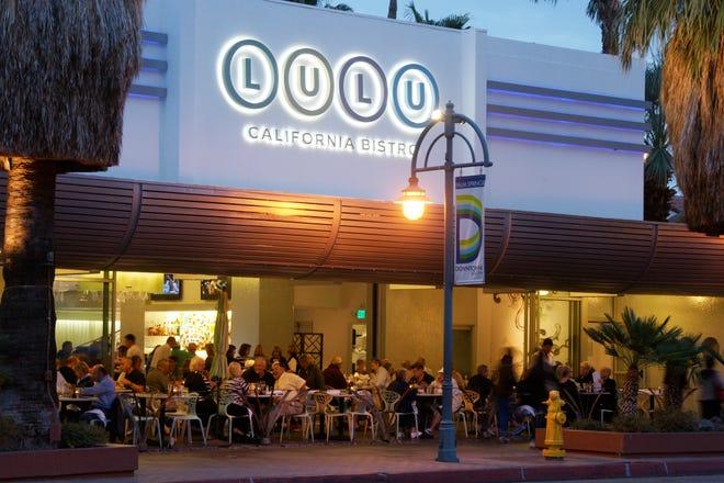 Lulu California Bistro in Palm Springs