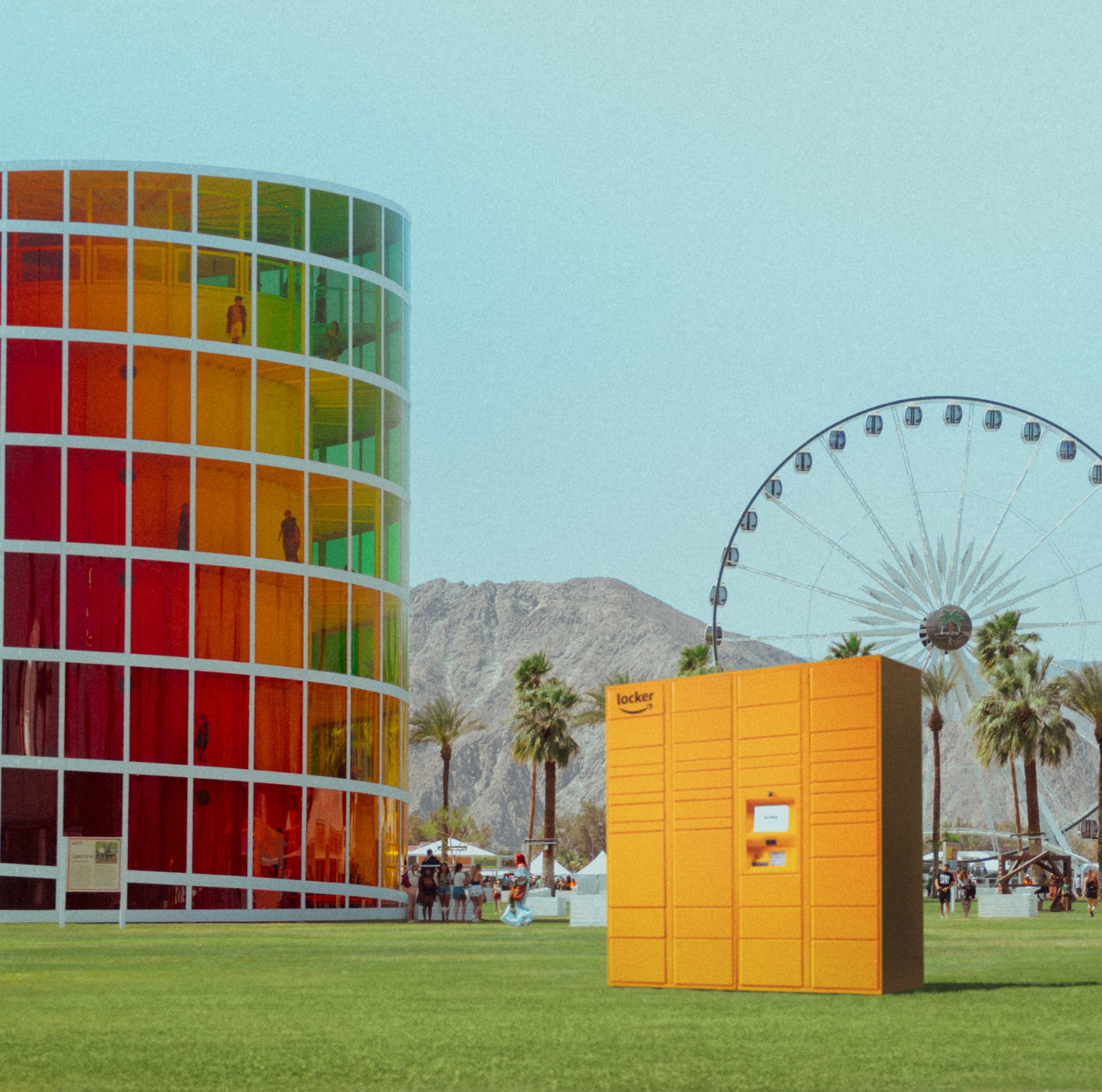 Forget something? Amazon lockers will be available at Coachella this year