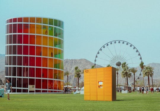 It was announced Tuesday that Amazon Lockers will be available at the 2019 Coachella Valley Music and Arts Festival.