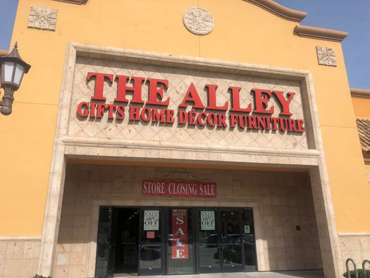 The Alley is closing its last store in Indio.