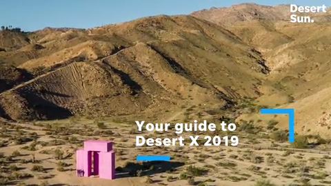 Take a look at the Desert X 2019 art installations in the Coachella Valley  and beyond