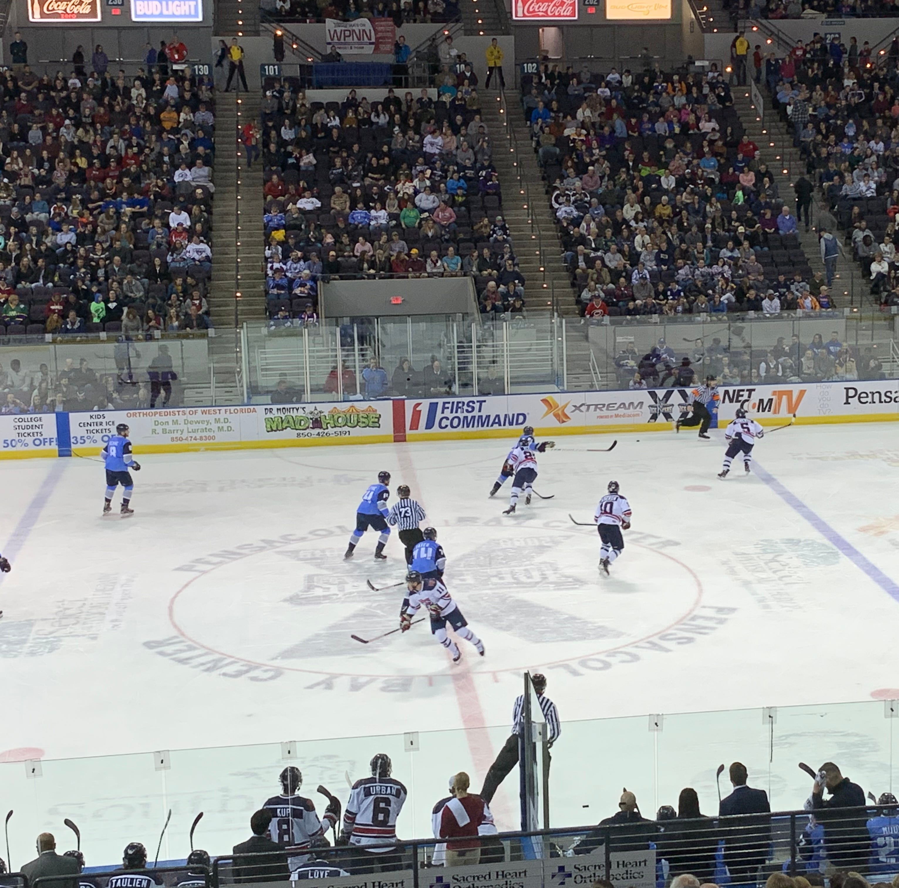 After big weekend in packed arena, Ice Flyers hoping to continue vibe rest of season