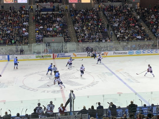 The Pensacola  Ice Flyers are hoping for a turnaround to this season after a thrilling weekend.