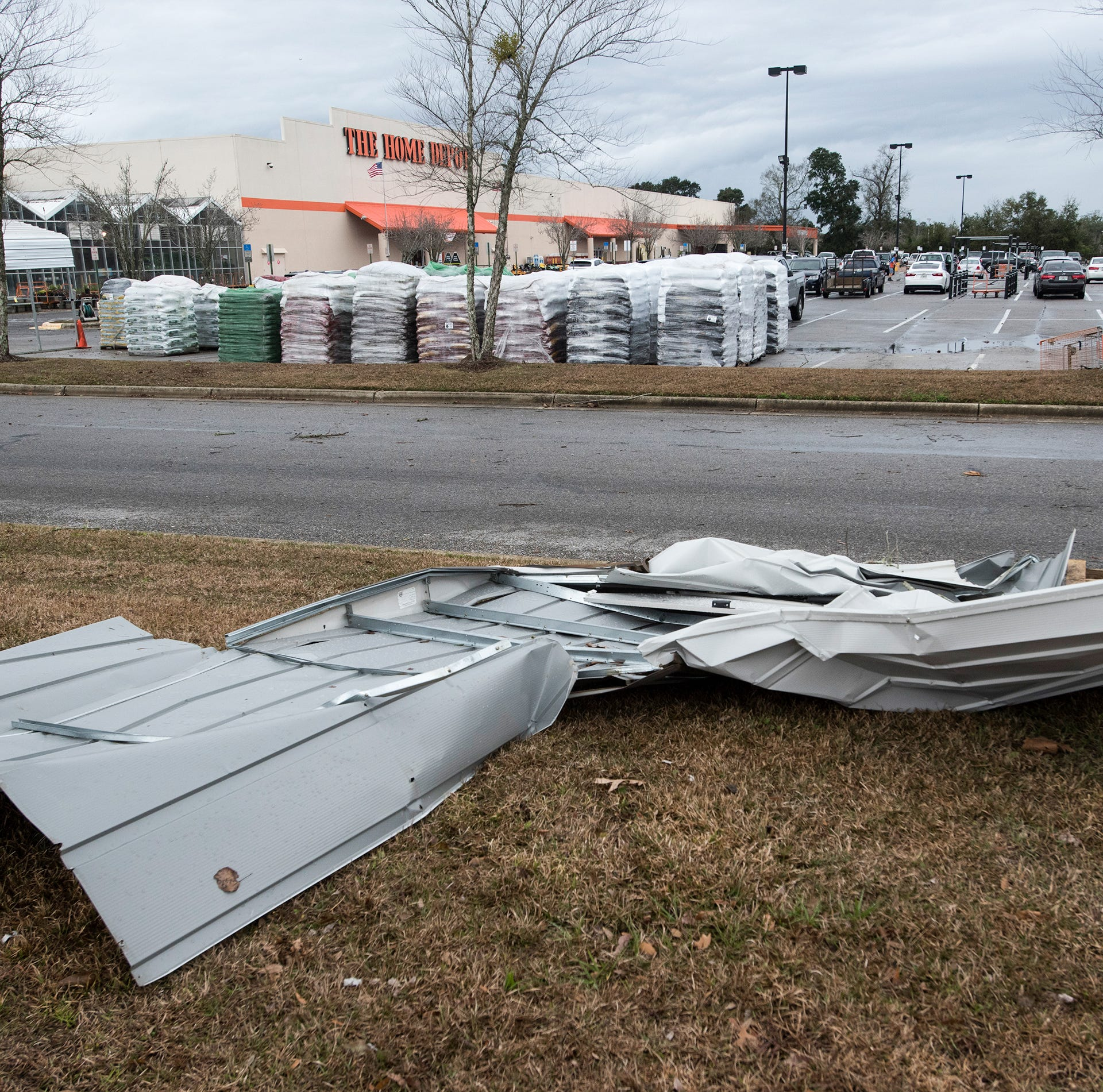Damage reported in Pace, Crestview as storms move through Northwest Florida