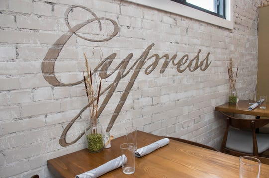 Cypress, a New American style restaurant, will officially open to the public on Friday.