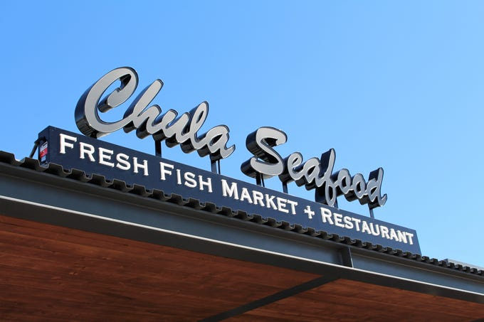 Chula Seafood at Uptown Plaza in Phoenix is the second market and restaurant location for the fishery, which specializes in harpoon-caught and deep-sea buoy swordfish.