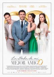 """En """"La Boda de mi Mejor Amigo"""", comparte créditos con Miguel Ángel Silvestre, Carlos Ferro y Natasha Dupeyrón."""