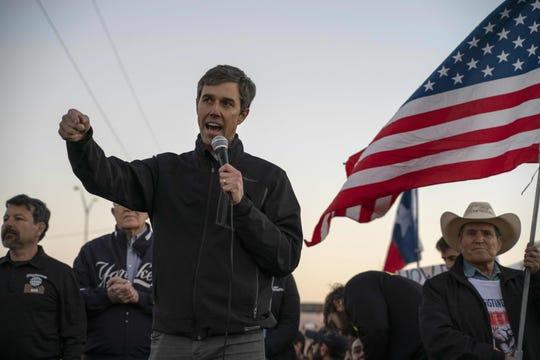 Beto O'Rourke, un ex congresista de Texas, se postuló el jueves a la contienda presidencial del 2020.