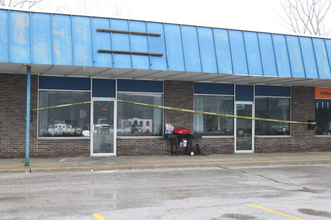 A fire at the shopping center in the 100 block of Maple Street forced the closure of local business Port Clinton Resale.