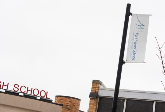 A Port Huron High School student died Wednesday.