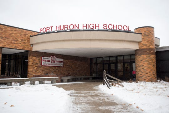 Some area school districts used more than nine snow days so far this year, closing school again Tuesday after a mixture of snow and freezing rain moved into the area overnight.