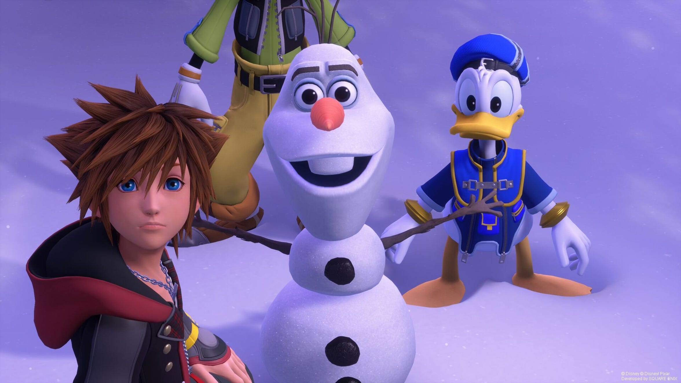 Kingdom Hearts III for PS4 and Xbox One.
