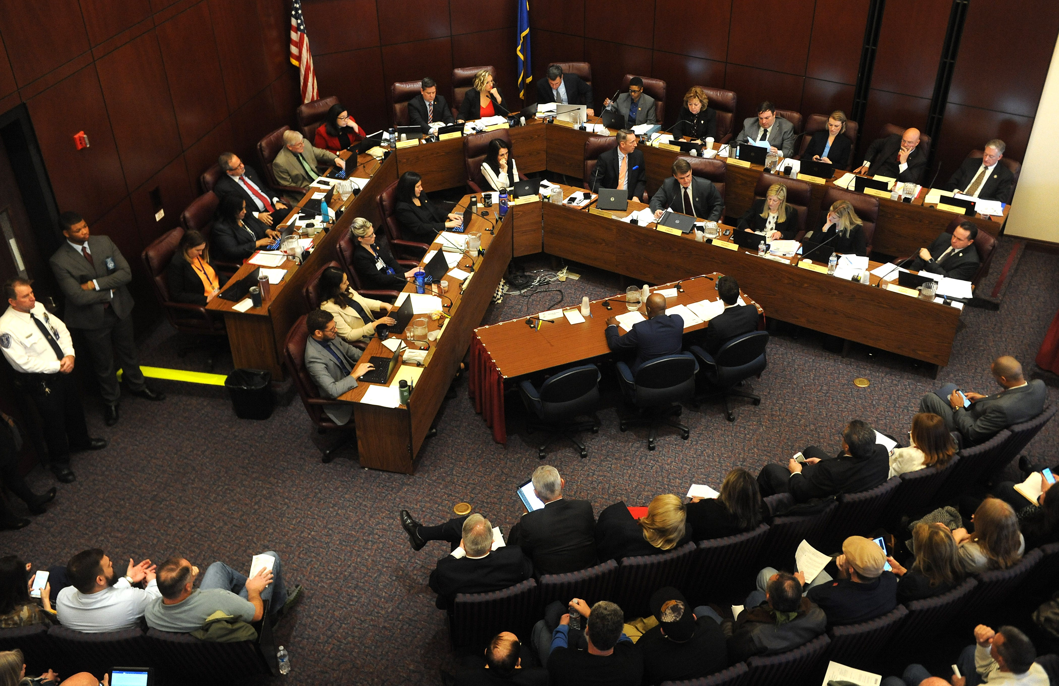 Watch: Legislators open much-anticipated hearings on proposed gun  background check law