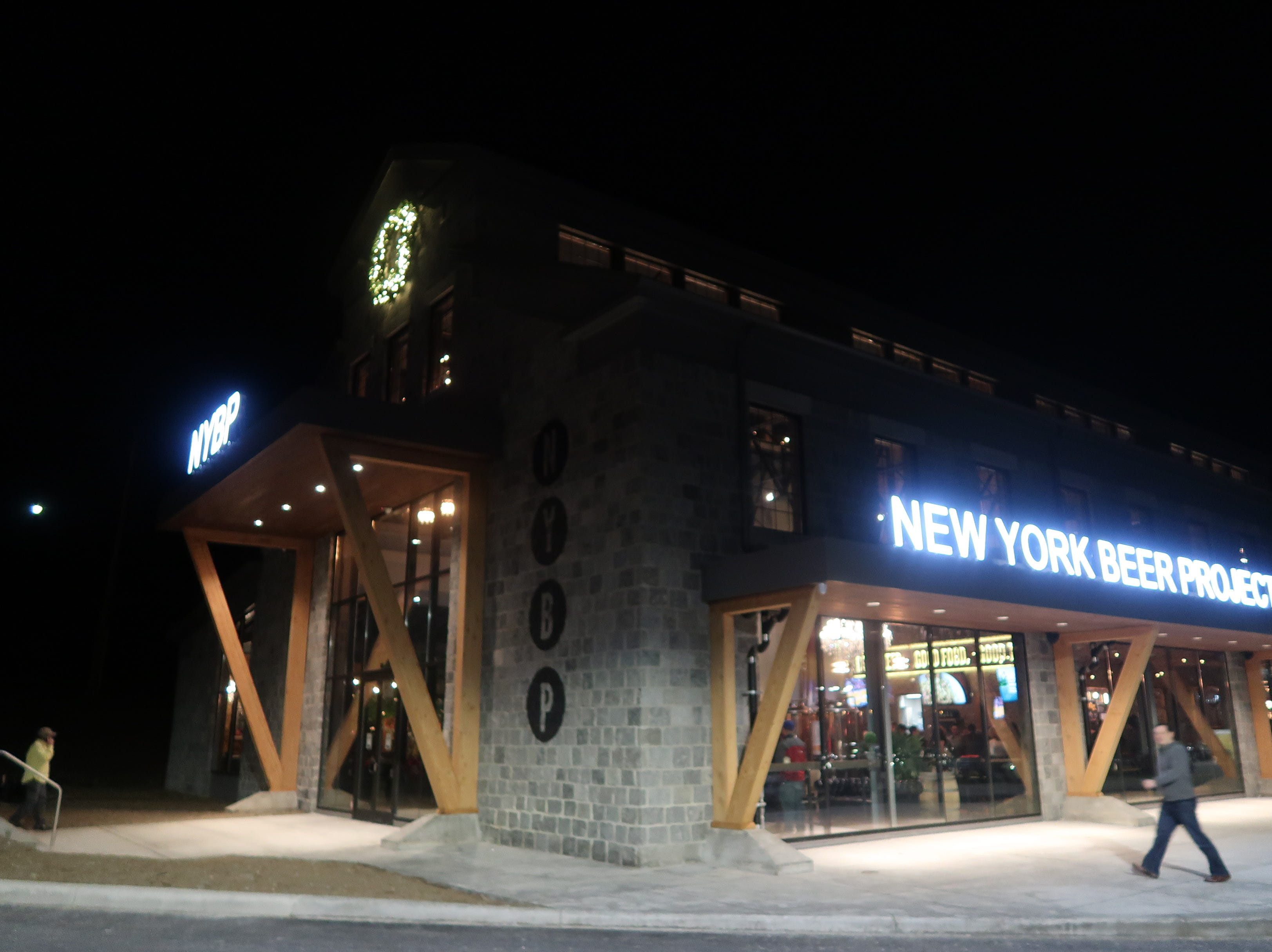 The exterior of the New York Beer Project in Victor.