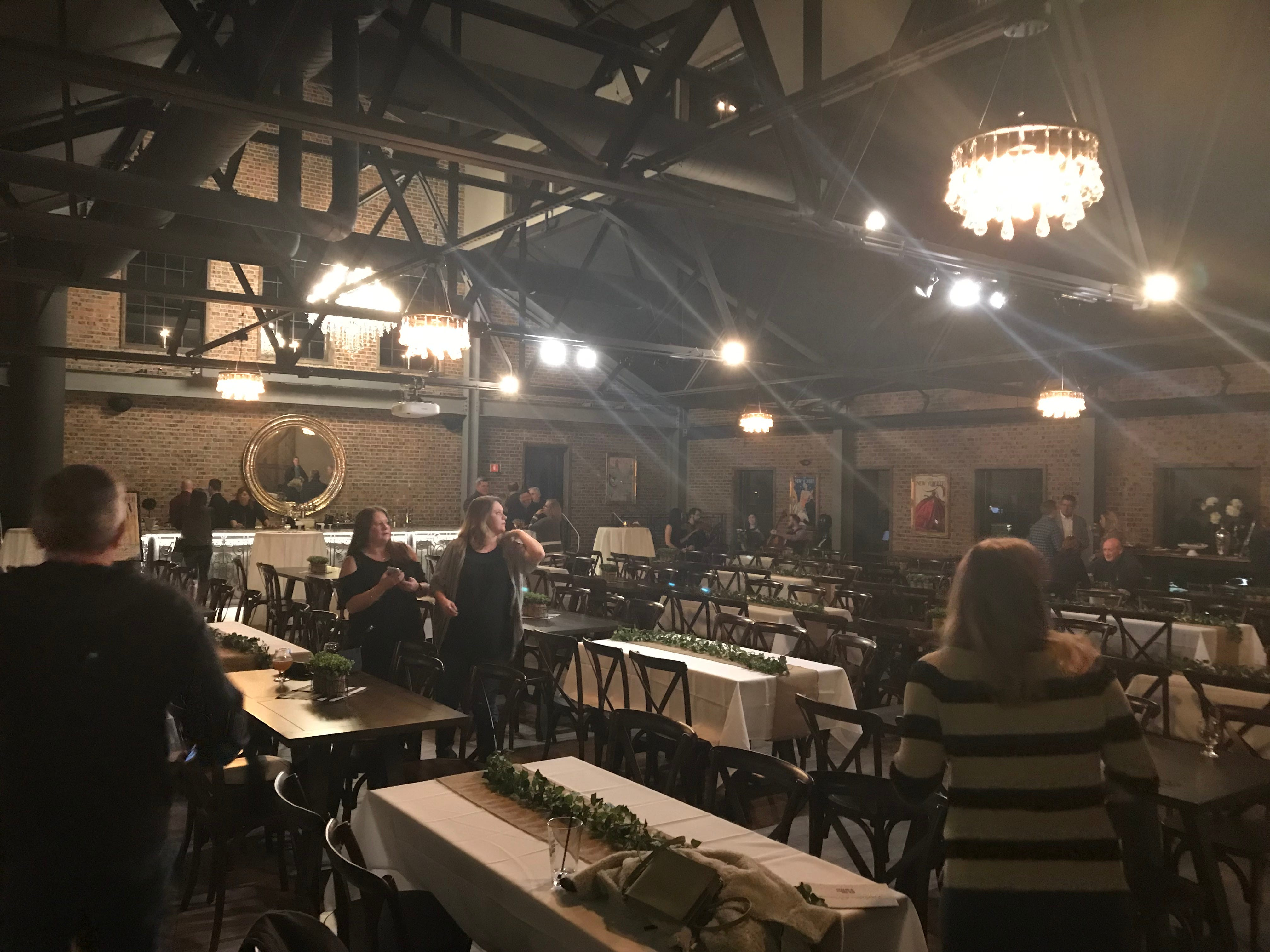 The second-floor event space at the New York Beer Project in Victor is available for private events and functions.