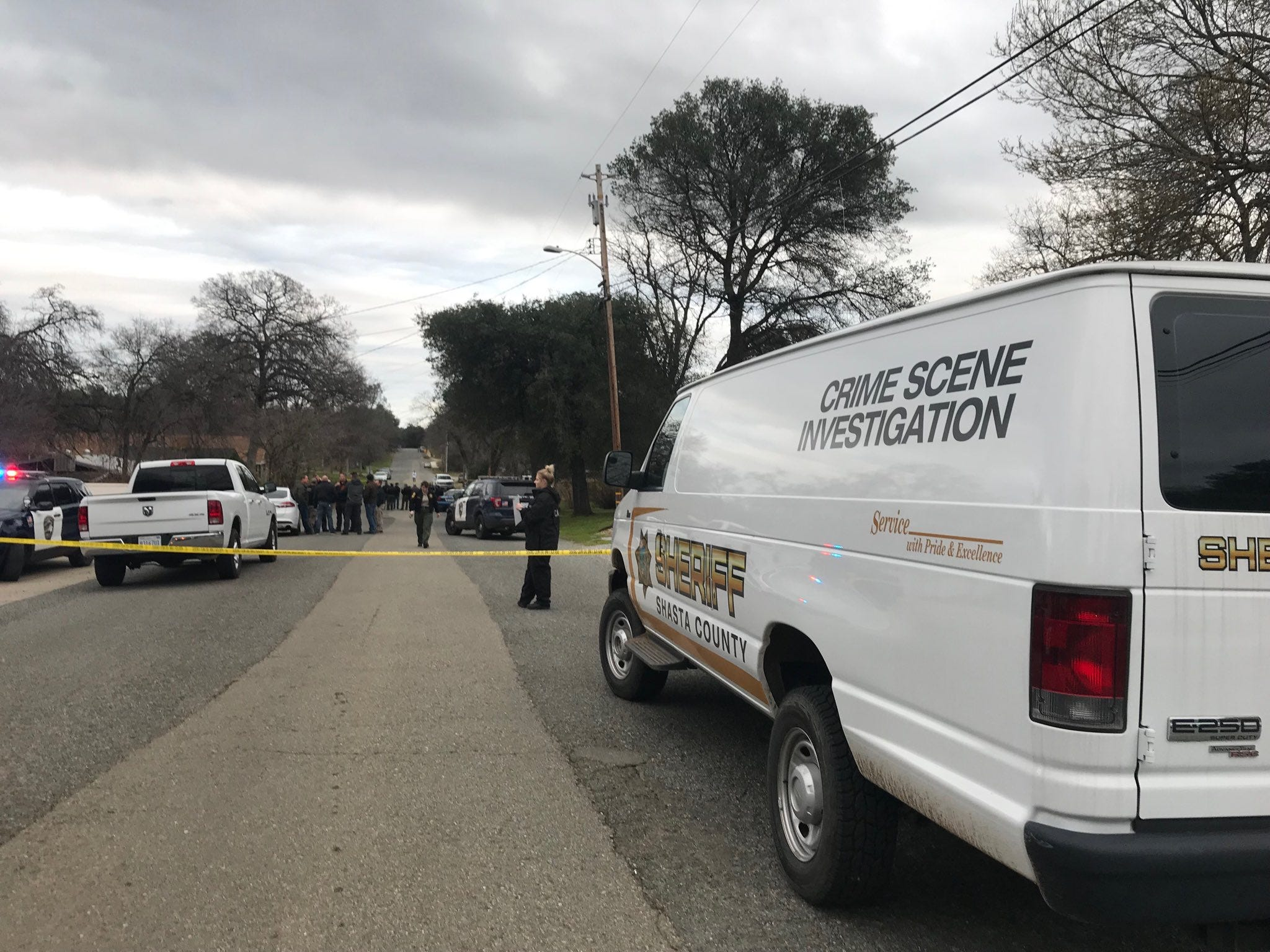 UPDATE: Police shoot, kill man after standoff in south Redding